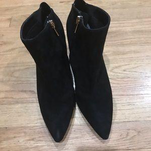 Qupid heels black suede